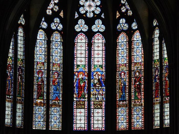 Journées du patrimoine 2018 - Visite commentée de la cathédrale de Clermont-Ferrand.