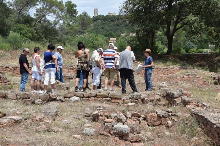 Journées du patrimoine 2017 - Visites de la villa romaine Saint-Martin de Taradeau