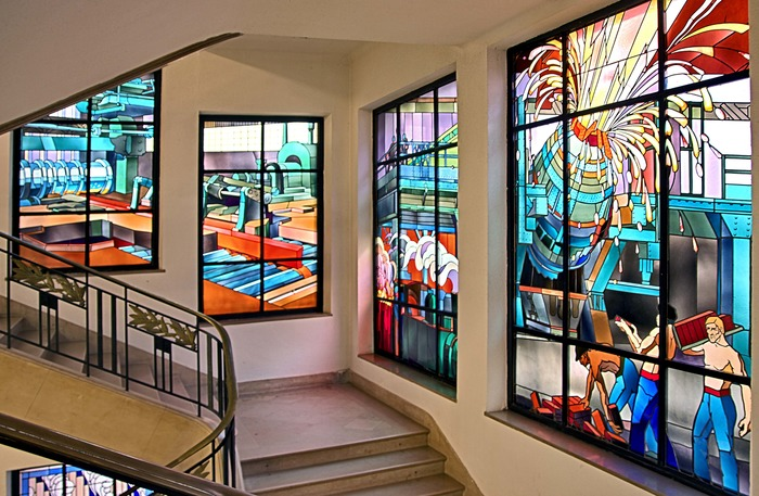 Journées du patrimoine 2018 - Visites des vitraux Majorelle