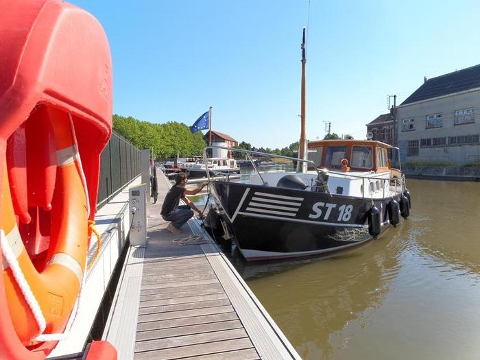 Journées du patrimoine 2018 - Visite guidée du port de plaisance et de l'écluse Folien