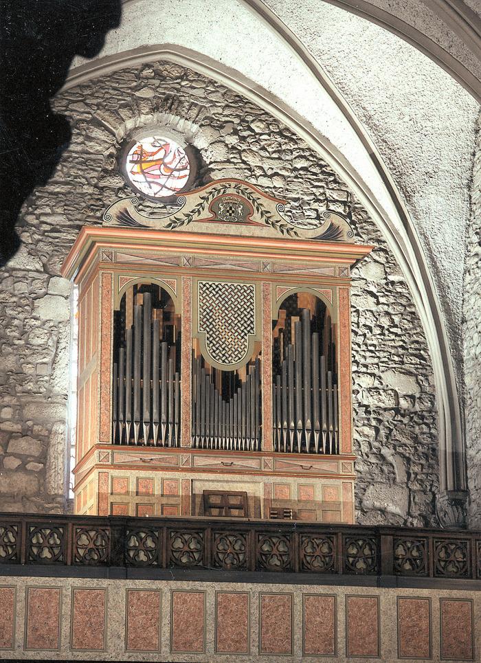 Journées du patrimoine 2018 - Visite commentée et démonstration de l'orgue Franzetti.