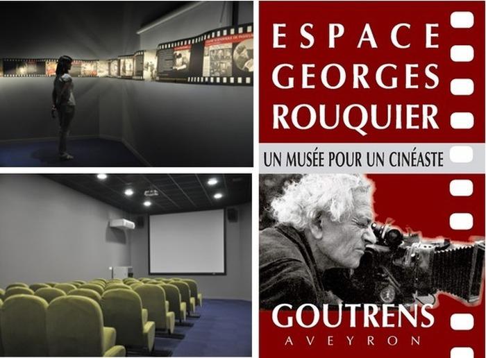 Journées du patrimoine 2018 - Visite de l'Espace Georges Rouquier et expositions