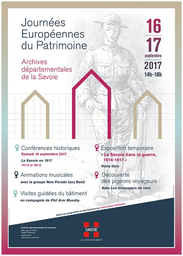 Journées du patrimoine 2017 - Visites guidées (45 minutes)