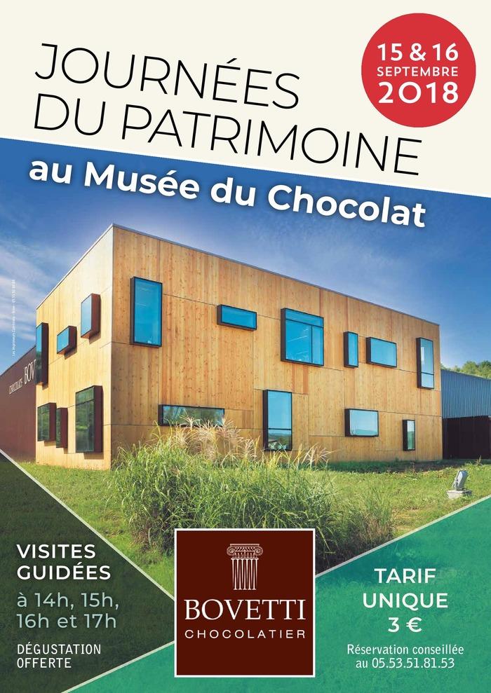 Journées du patrimoine 2018 - Visites guidées au musée du chocolat Bovetti