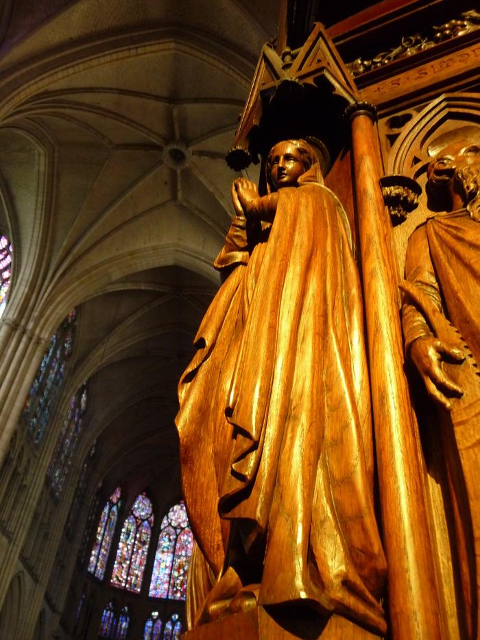 Crédits image : Chaire de la cathédrale de Troyes - Photographie : Marie-Anne Ballot