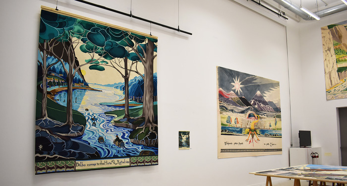 Journées du patrimoine 2018 - Visites guidées des expositions et ateliers professionnels de la Cité de la tapisserie à Aubusson