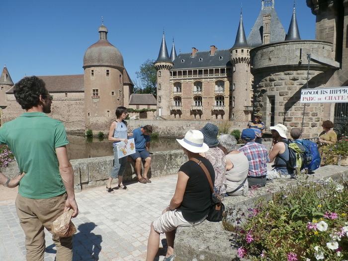 Journées du patrimoine 2018 - Visites guidées des extérieurs du Château de La Clayette