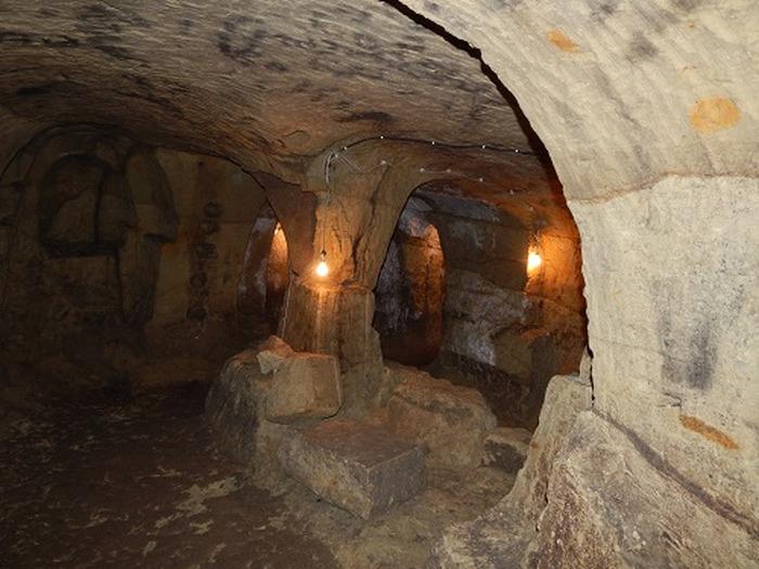 Journées du patrimoine 2018 - Visites guidées des souterrains du refuge de Prinçay