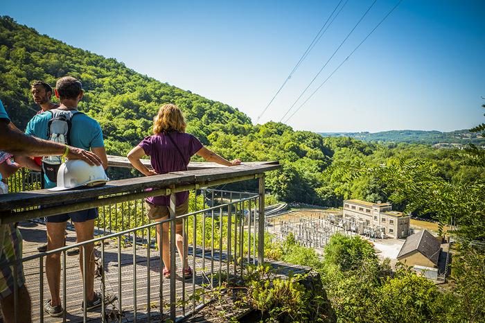 Journées du patrimoine 2018 - Visites guidées du barrage du Saillant