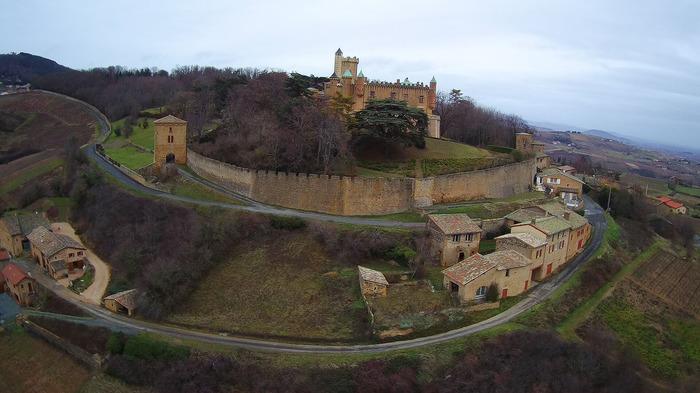 Journées du patrimoine 2018 - Visites guidées du château de Montmelas.