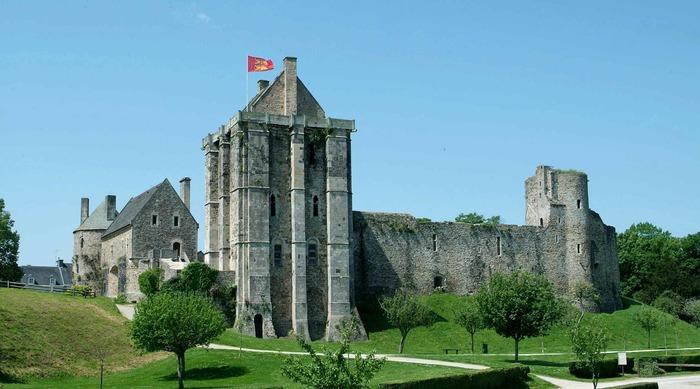 Journées du patrimoine 2018 - Visites guidées du château médiéval de Saint-Sauveur-le-Vicomte avec un guide conférencier du Pays d'art et d'histoire du Clos du Cotentin