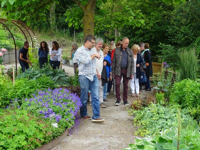Journées du patrimoine 2018 - Visites guidées du jardin des 5 sens