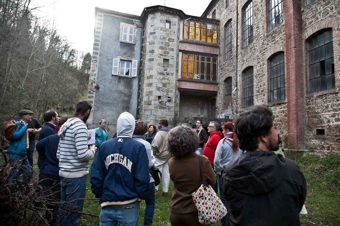 Journées du patrimoine 2018 - Visite commentée du Moulinage des Rivières.