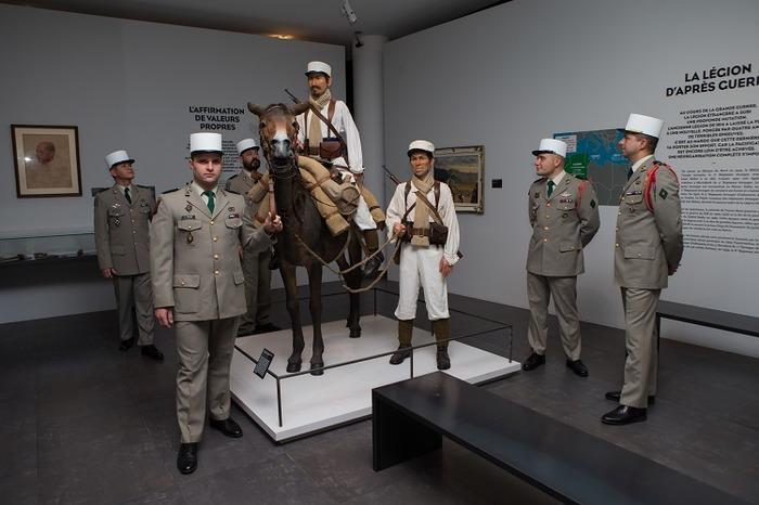 Journées du patrimoine 2018 - Visites guidées du musée de la Légion étrangère