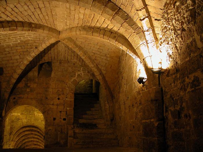 Journées du patrimoine 2018 - Visites guidées du patrimoine souterrain - cave du pont, galerie d'Ennery, petite carrière et casemates du château