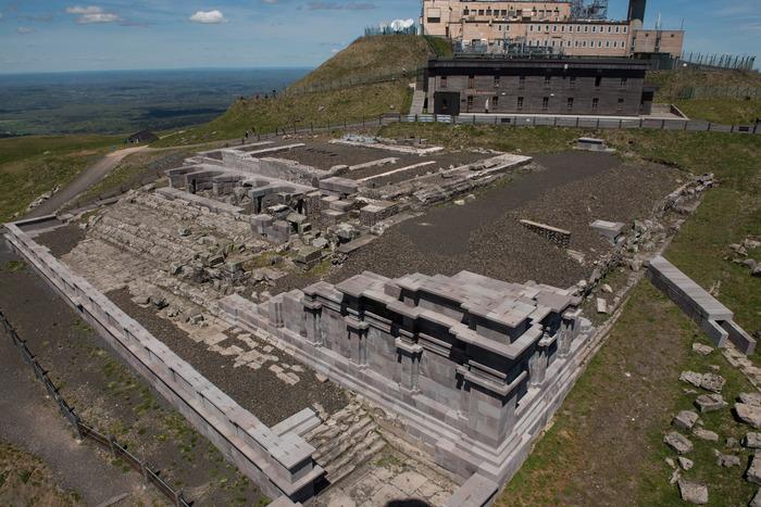 Journées du patrimoine 2018 - Temple de Mercure.