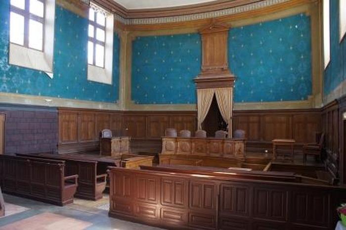 Journées du patrimoine 2018 - Visites guidées du tribunal de Baugé