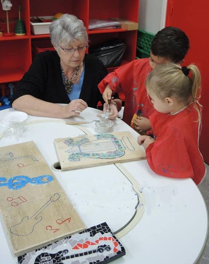 Journées du patrimoine 2018 - Atelier Mosaïque et visites pour enfants