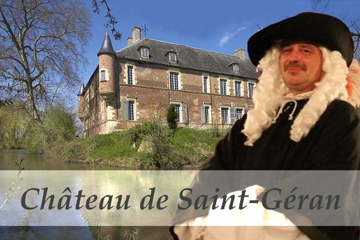 Journées du patrimoine 2018 - Visites guidées et gratuites du château de Saint-Géran.