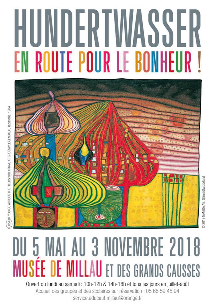 Journées du patrimoine 2018 - Visite libre de l'exposition Hundertwasser : en route pour le bonheur !