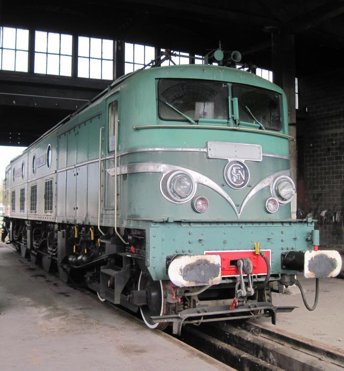 Journées du patrimoine 2018 - Visites libres et commentées d'une locomotive 2D2 9135 à Migennes