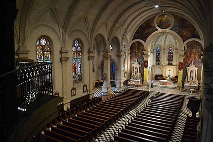 Journées du patrimoine 2018 - Visites semi-guidées de l'église Saint-Martin et de ses sacristies