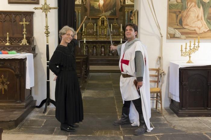 Journées du patrimoine 2018 - Visites théâtralisée de l'Eglise du Temple