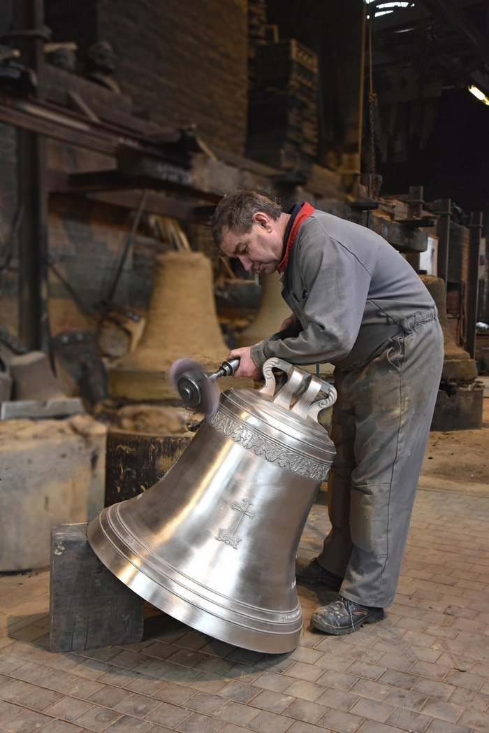 Journées du patrimoine 2018 - Visitez guidée la fonderie de Cloches Cornille Havard