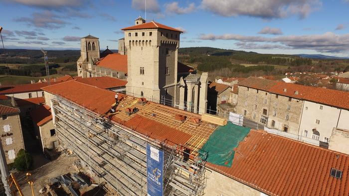 Journées du patrimoine 2017 - Visitez le chantier de restauration de l'abbaye de La Chaise-Dieu