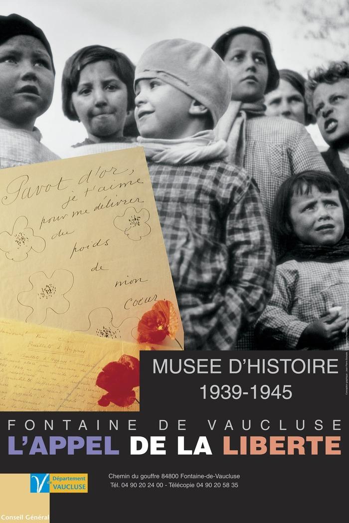 Crédits image : Musée-d'Histoire Jean Garcin 39-45 L'Appel de la Liberté - Département de Vaucluse