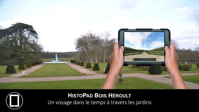 Journées du patrimoine 2018 - Visite libre du parc à travers les siècles en réalité virtuelle avec Histopad