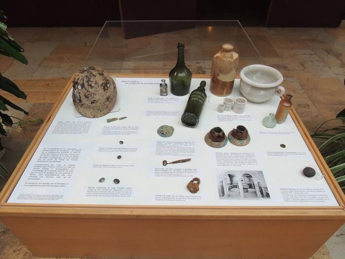 Journées du patrimoine 2018 - Vitrine d'exposition