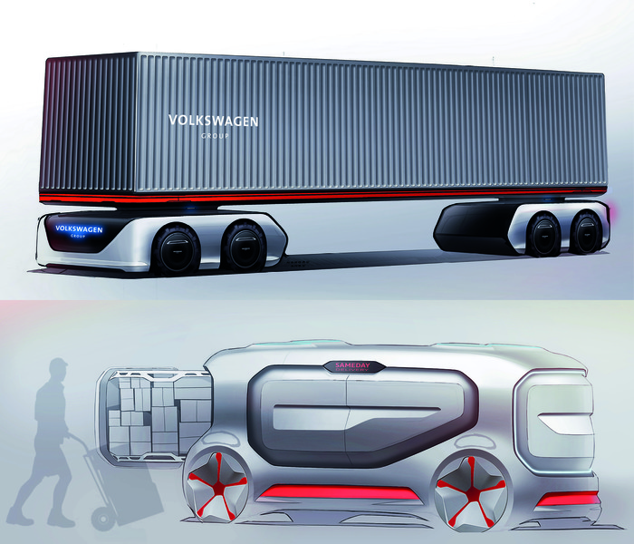 Volkswagen, architecte du futur de MAN.