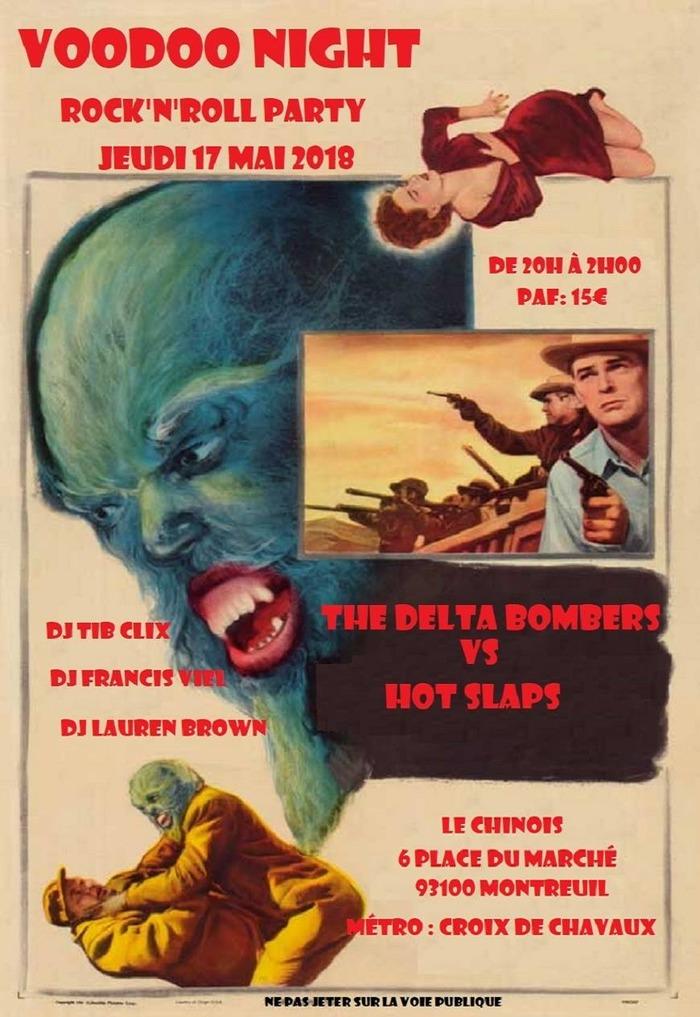 Voodoo Night The Delta Bombers Hot Slap