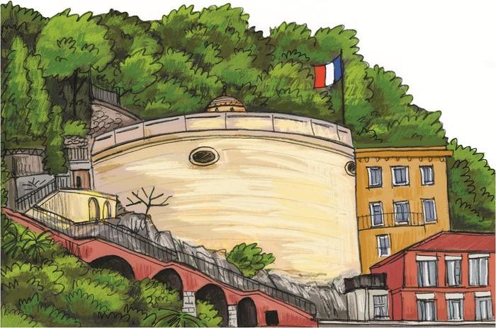 Crédits image : Ville de Nice - dessin Emilie Camatte