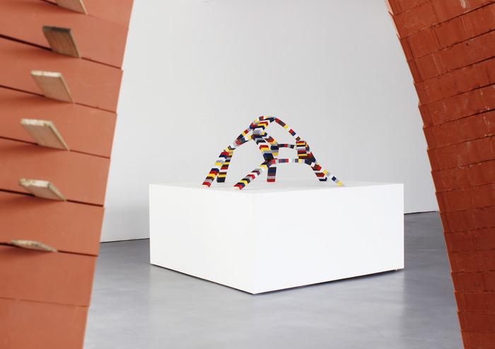 Crédits image : Vue de l'exposition Vincent Ganivet, Perspectives et développements, 2017 - Le Portique centre régional d'art contemporain du Havre © Simon Desloges