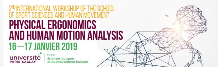 Workshop - Physical ergonomics and human motion analysis