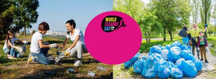 Journées du patrimoine 2018 - World clean up day