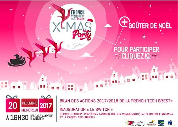 X-MAS Party de la French Tech Brest+