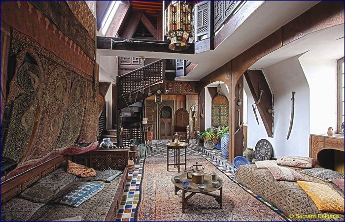 Crédits image : Salon marocain - Bernard Delgado