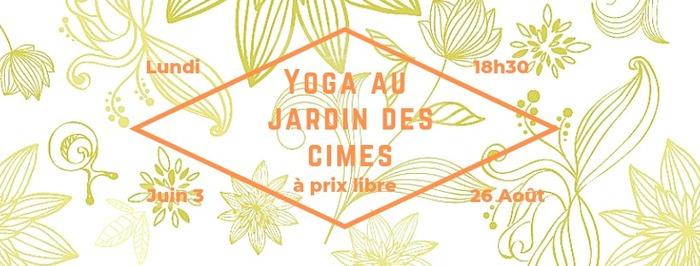 Yoga au Jardin des Cimes