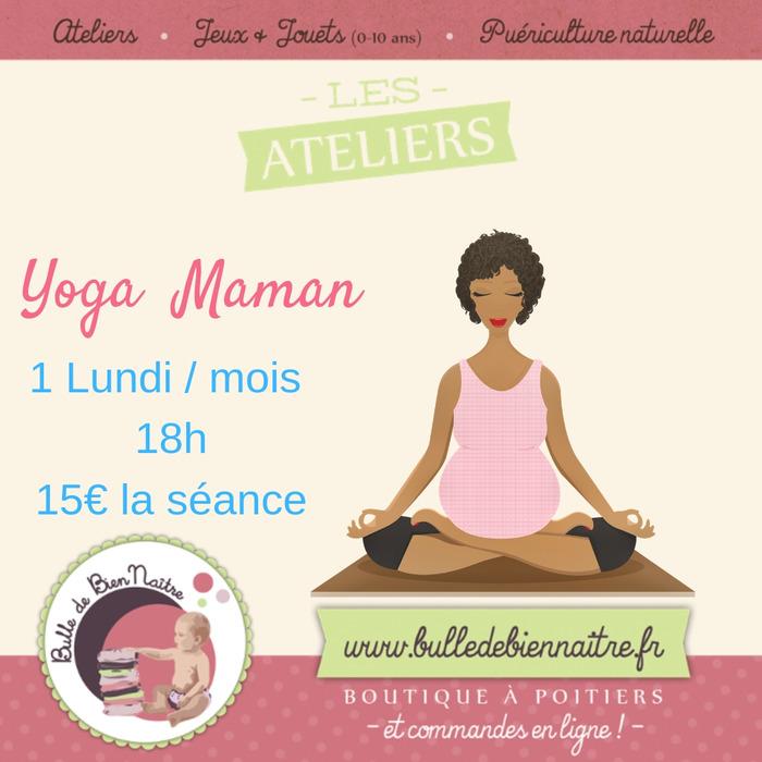 Yoga maman / prénatal et posnatal