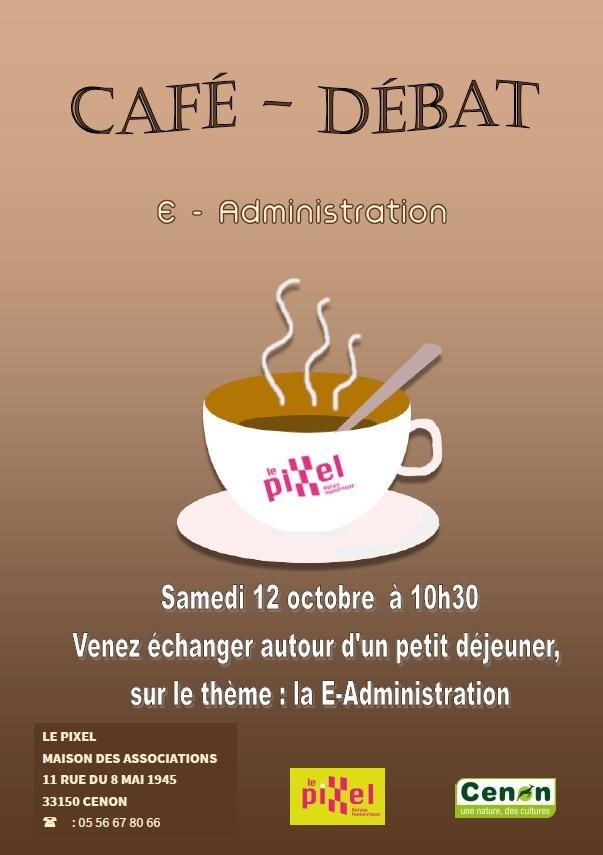 CAFÉ DÉBAT - E-Administration