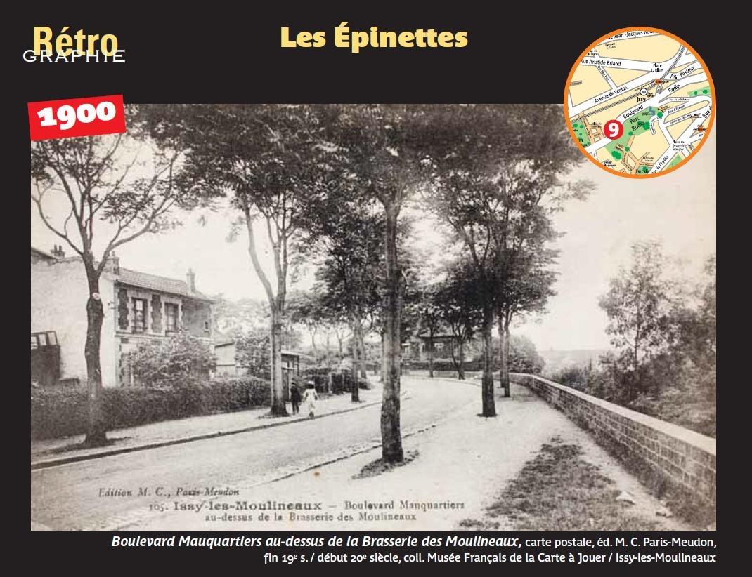 Evfevent Retro Graphie Vues Des Quartiers D Issy 69 572006