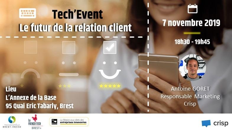 Tech Event - Le futur de la Relation Client