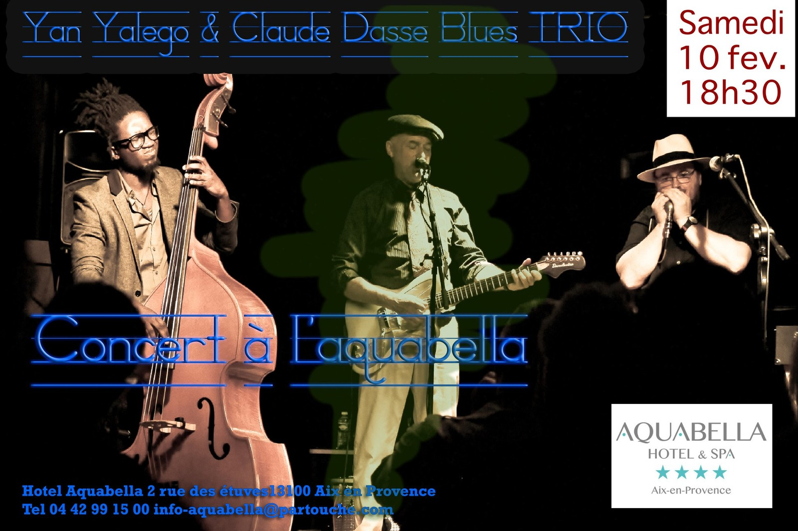 Evfevent Yan Yalego Claude Dasse Blues Trio 866165