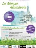 Journées du patrimoine 2016 -100 ans de la Maison Alsacienne