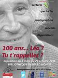 Journées du patrimoine 2016 -100 ans... Léo ? Tu t'rappelles ? à Beaune