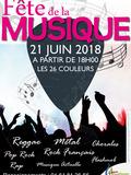 Fête de la musique 2018 - 26 couleurs