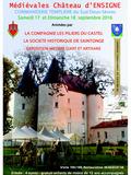 Journées du patrimoine 2016 -À la découverte de la Commanderie templière et hospitalière d'Ensigné